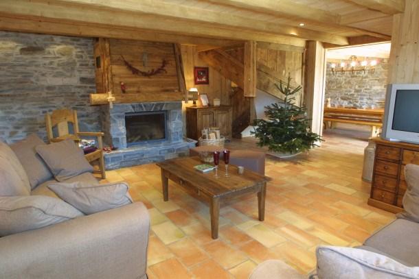 Location vacances Les Gets -  Appartement - 10 personnes - Salon de jardin - Photo N° 1