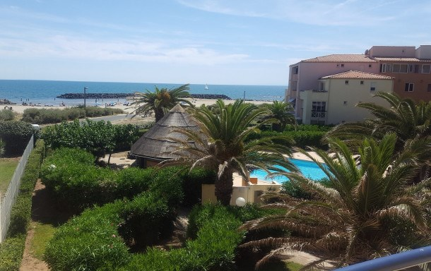 Location vacances Agde -  Appartement - 5 personnes - Ascenseur - Photo N° 1