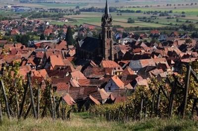 """Gîte """" Au repos de l'ours """" en centre Alsace - Dambach la Ville"""