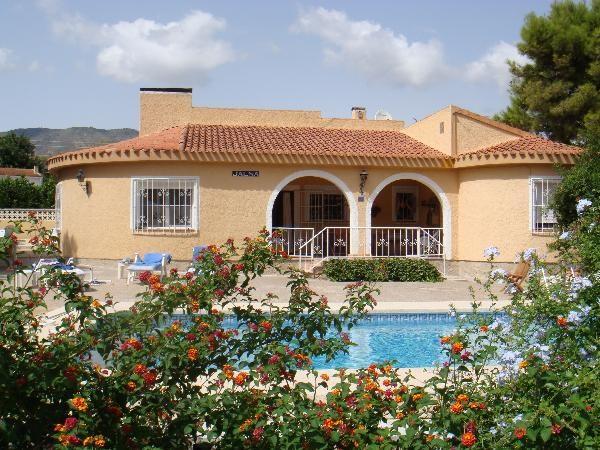 Villa op 6 km van Benidorm,Costa Blanca,Alicante