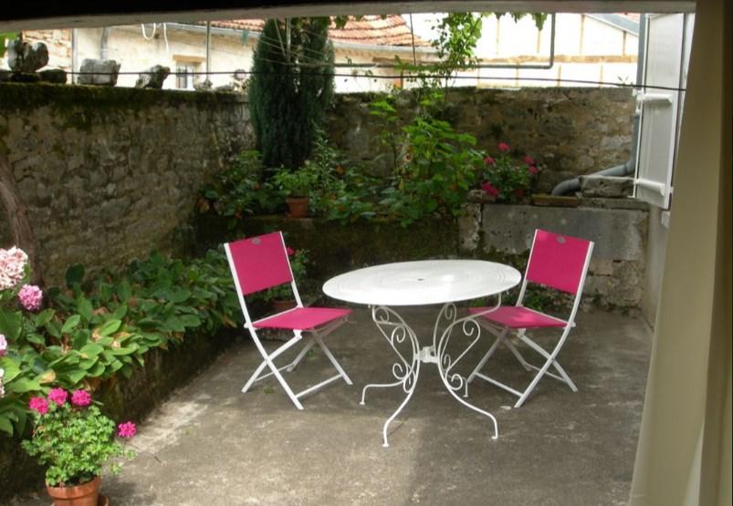 cour et jardin intérieur
