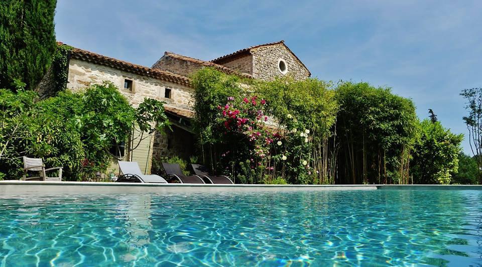 Location vacances Barjac -  Gite - 50 personnes - Jardin - Photo N° 1