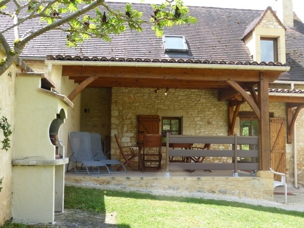 Location vacances Carlux -  Gite - 6 personnes - Barbecue - Photo N° 1