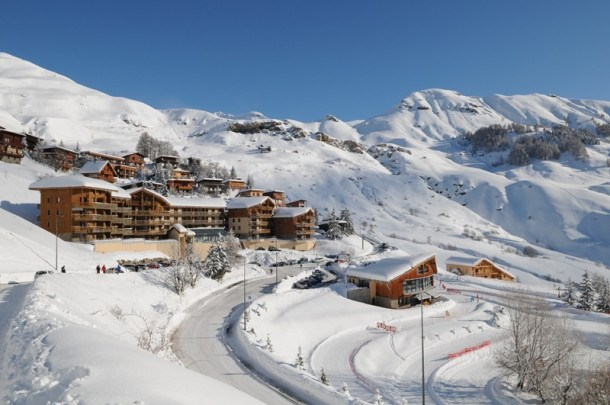 Beau deux pièces avec grande terrasse expo SUD à Orcières Merlette - Alpes du Sud