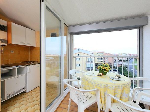 Location vacances Agde -  Appartement - 4 personnes - Balcon - Photo N° 1