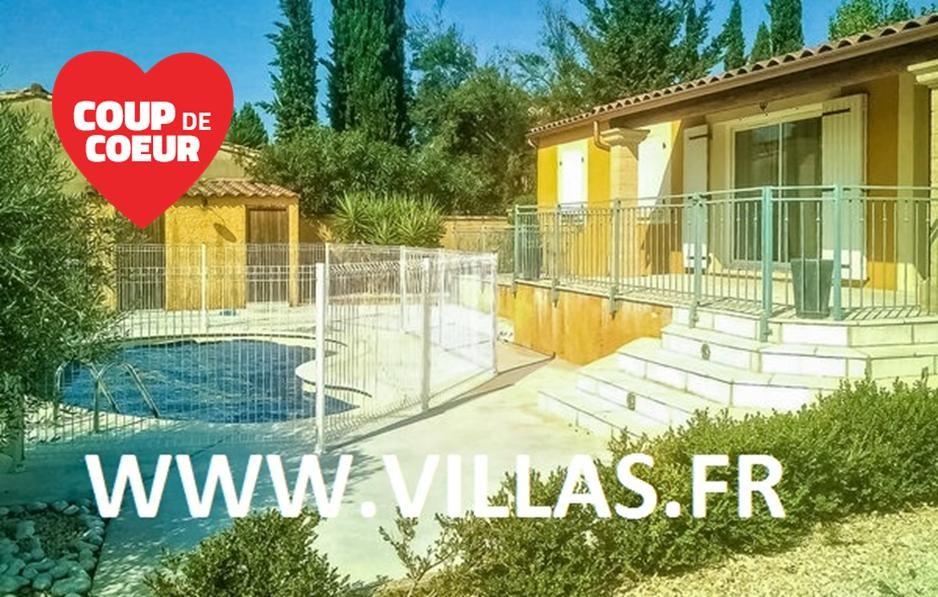 Location vacances Castillon-du-Gard -  Maison - 9 personnes - Barbecue - Photo N° 1