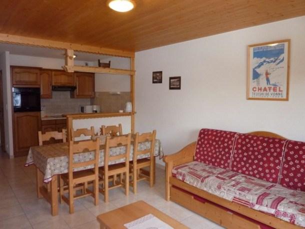 Location vacances Châtel -  Appartement - 7 personnes - Câble / satellite - Photo N° 1