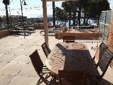 terrasse privative face aux iles