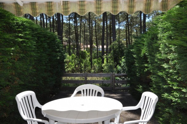 Location vacances Lacanau -  Maison - 2 personnes - Jardin - Photo N° 1