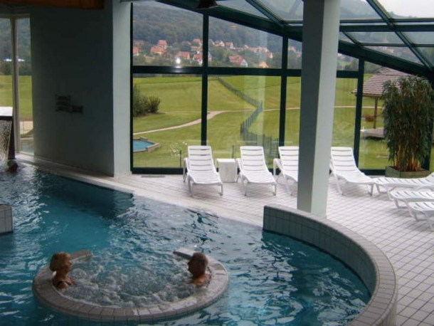 Camping L'Oasis - Chalet - 6 personnes - 2 chambres