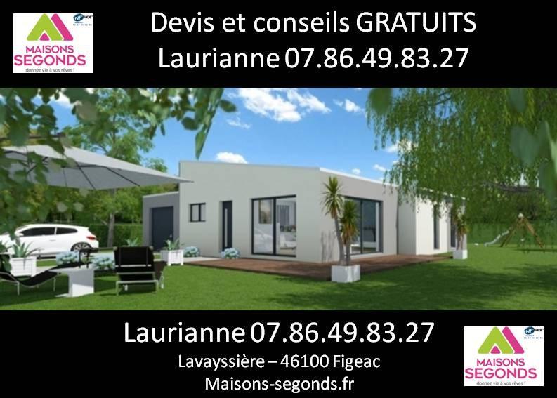 Maison  3 pièces + Terrain 2000 m² Cajarc par MAISONS SEGONDS
