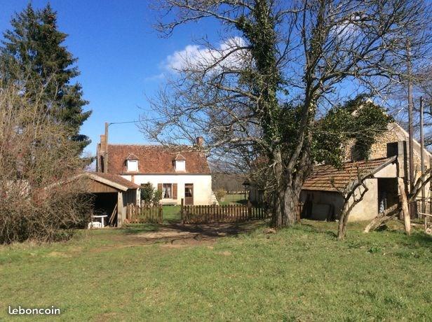 Maison de Ferme dans la Forêt de Tronçais pour 6 personnes