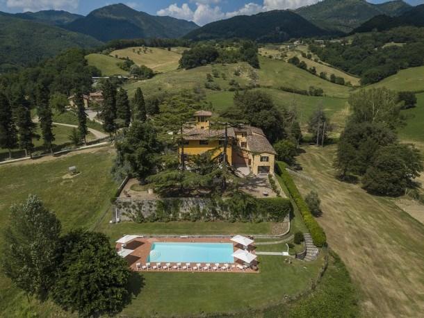 Villa Falco Reale 12 - Spectacular Medicean villa built in the 15th century in the hills of Vicchio