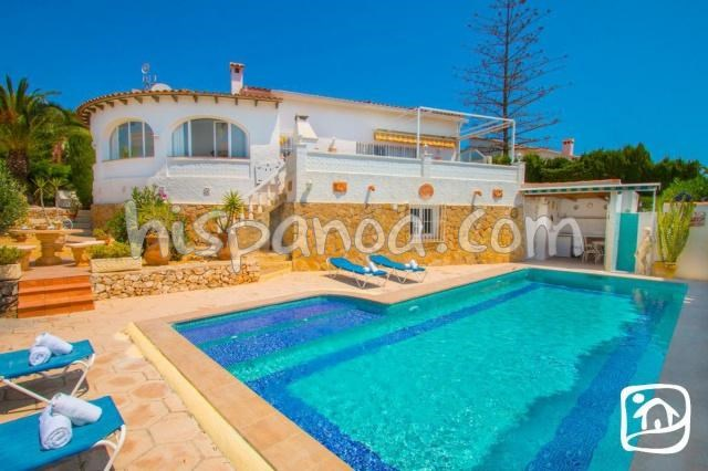Holiday rentals Calp - House - 7 persons - Deck chair - Photo N° 1