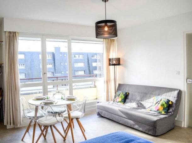Location vacances Deauville -  Appartement - 3 personnes - Télévision - Photo N° 1