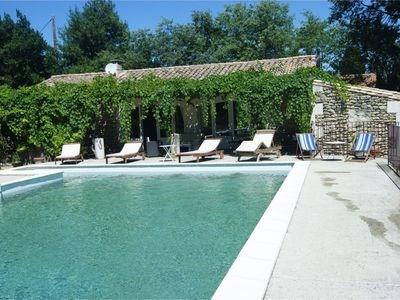 Location saisonnière Mazet avec piscine privée et Internet Wifi
