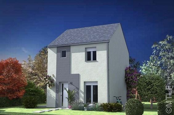Maison  4 pièces + Terrain 180 m² Coubron par MTLF VAUJOURS
