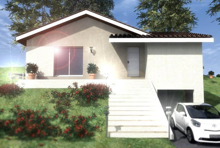 Maison  5 pièces + Terrain 610 m² Domarin par CREAVILLA 69