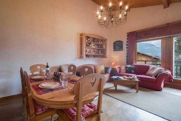 Location vacances Megève -  Appartement - 5 personnes - Barbecue - Photo N° 1
