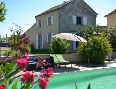 Location vacances Saint-Sulpice-de-Faleyrens -  Maison - 4 personnes - Barbecue - Photo N° 1