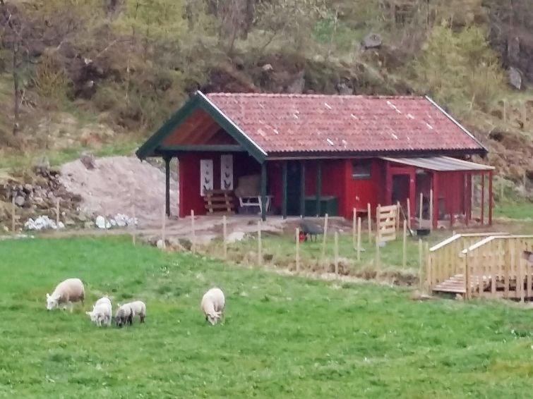 Maison pour 3 personnes à Lyngdal