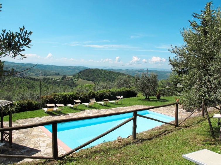Appartement pour 2 personnes à Badia a Passignano