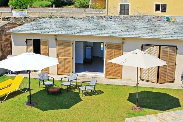 Location vacances Brando -  Maison - 6 personnes - Barbecue - Photo N° 1