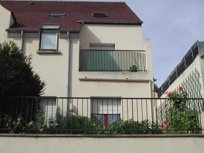 appartement et sa terrasse