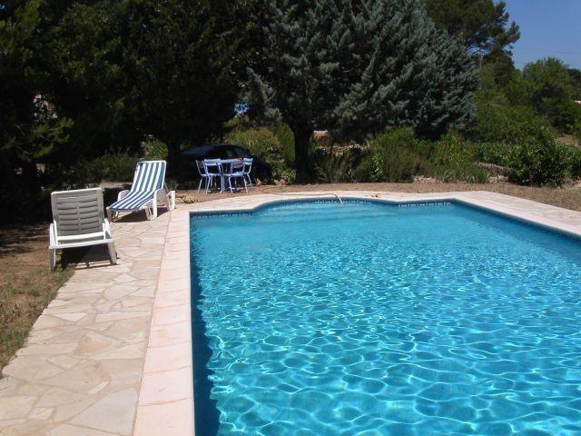 Privates Schwimmbad 10x5 mit Terasse