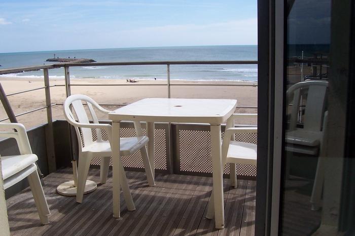 balcon sur la plage