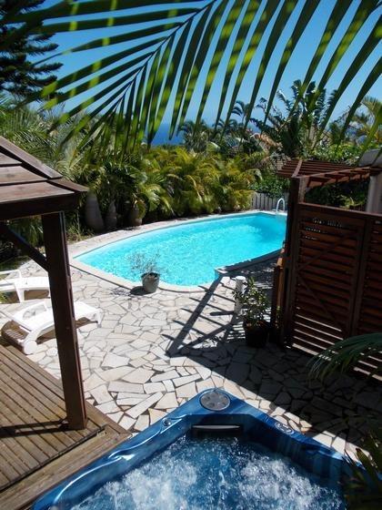Appartement pour 4 pers. avec piscine, Saint-Denis