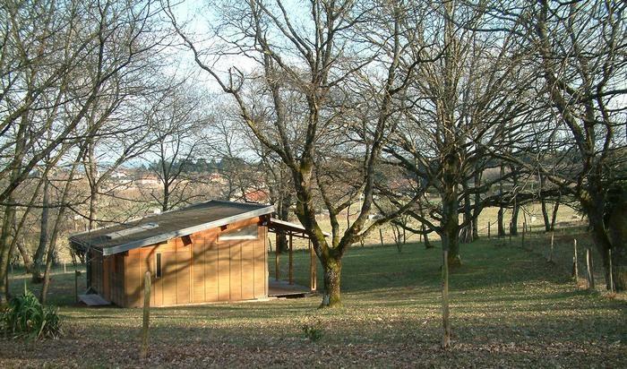 vue extérieure bungalow cornet