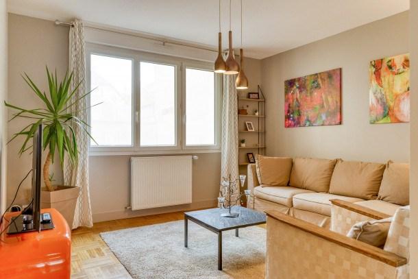Location vacances Rennes -  Appartement - 3 personnes - Lecteur DVD - Photo N° 1