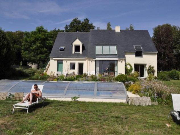 T2 bis  dans villa 2005 avec piscine couverte et chauffée,- calme assuré, -vue superbe - Guérande