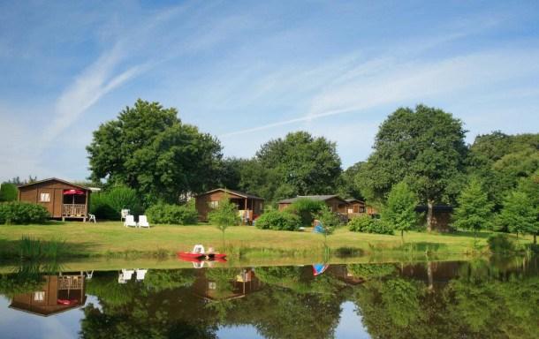 Camping Le Deffay - Mobile Home E 2 chambres