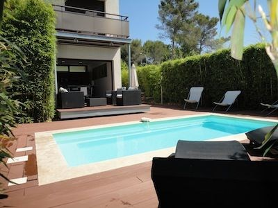 Location vacances Antibes -  Maison - 6 personnes - Chaise longue - Photo N° 1