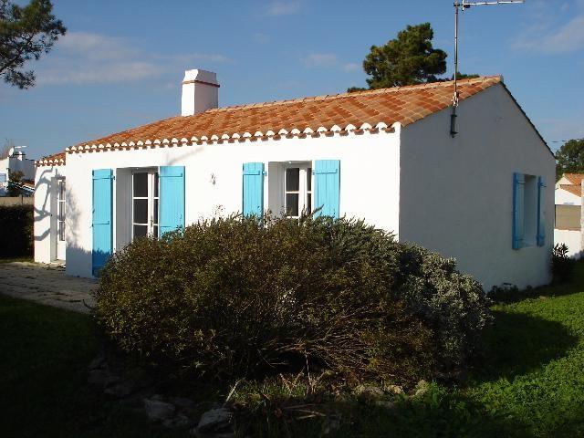 Location vacances Noirmoutier-en-l'Île -  Maison - 6 personnes - Barbecue - Photo N° 1