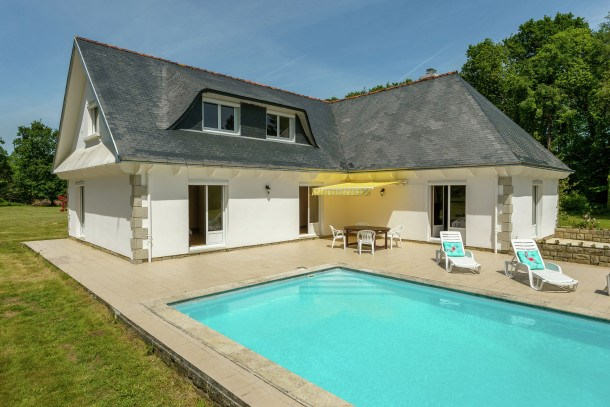 Location vacances Concarneau -  Maison - 12 personnes - Barbecue - Photo N° 1