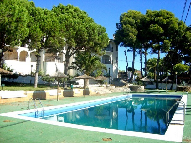 Seafront apartments with pool. Beautiful views. Ideal for families