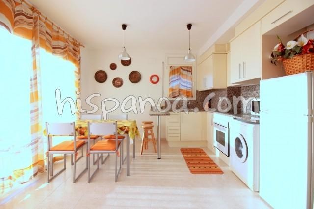 Location vacances Rosas -  Appartement - 5 personnes - Salon de jardin - Photo N° 1