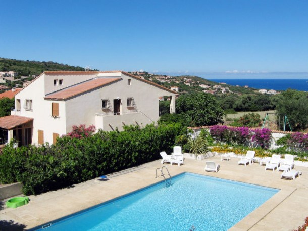 Location vacances Propriano -  Appartement - 5 personnes - Barbecue - Photo N° 1