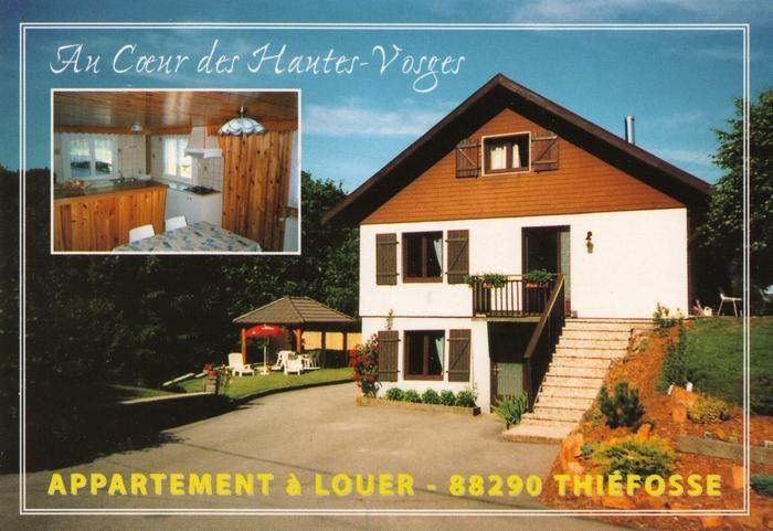 Alquileres de vacaciones Thiéfosse - Apartamento - 5 personas - BBQ - Foto N° 1