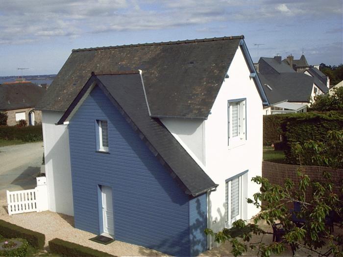 vue de la maison