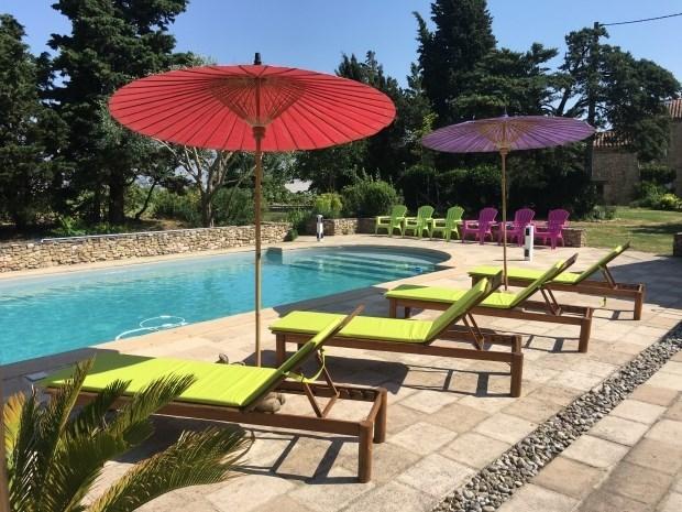 Gîte avec piscine partagée - Mourvilles-Hautes