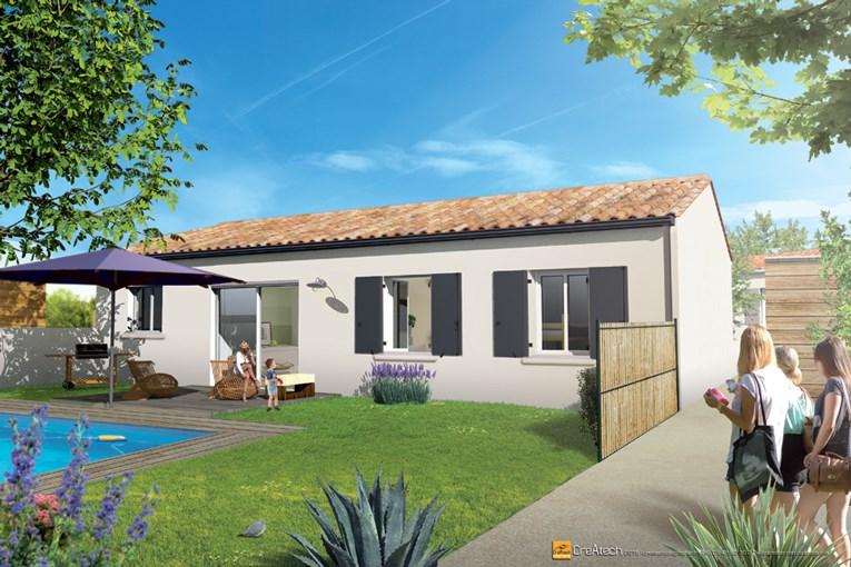 Maison  3 pièces + Terrain 403 m² Saint-Sauveur-d'Aunis par MAISONS ACCO