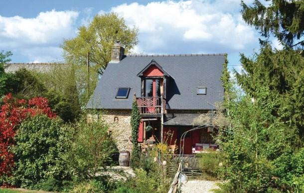 Location vacances Sainte-Marie-du-Bois -  Maison - 2 personnes - Barbecue - Photo N° 1
