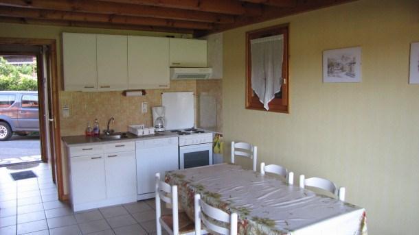Location vacances Morillon -  Maison - 6 personnes - Salon de jardin - Photo N° 1