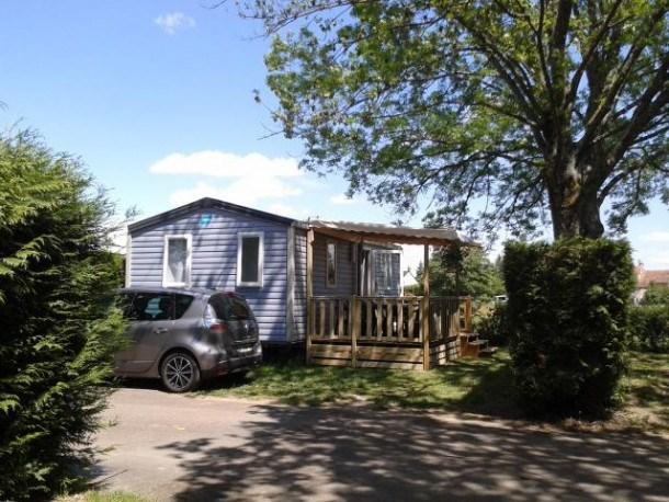 Camping de la Porte d'Arroux - Mobil-home Super Mercure Access