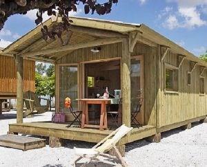 """Le chalet """"Sapin"""" esprit cottage tout confort, construit en bois, dans un souci de respect de l'e..."""