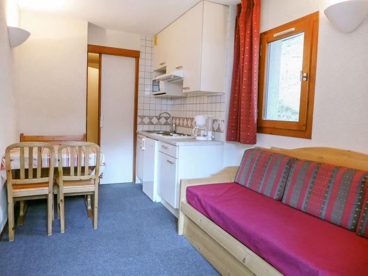 Appartement pour 3 à Tignes